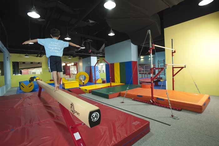 Gymnastics Gym For Kids - Balance Beam