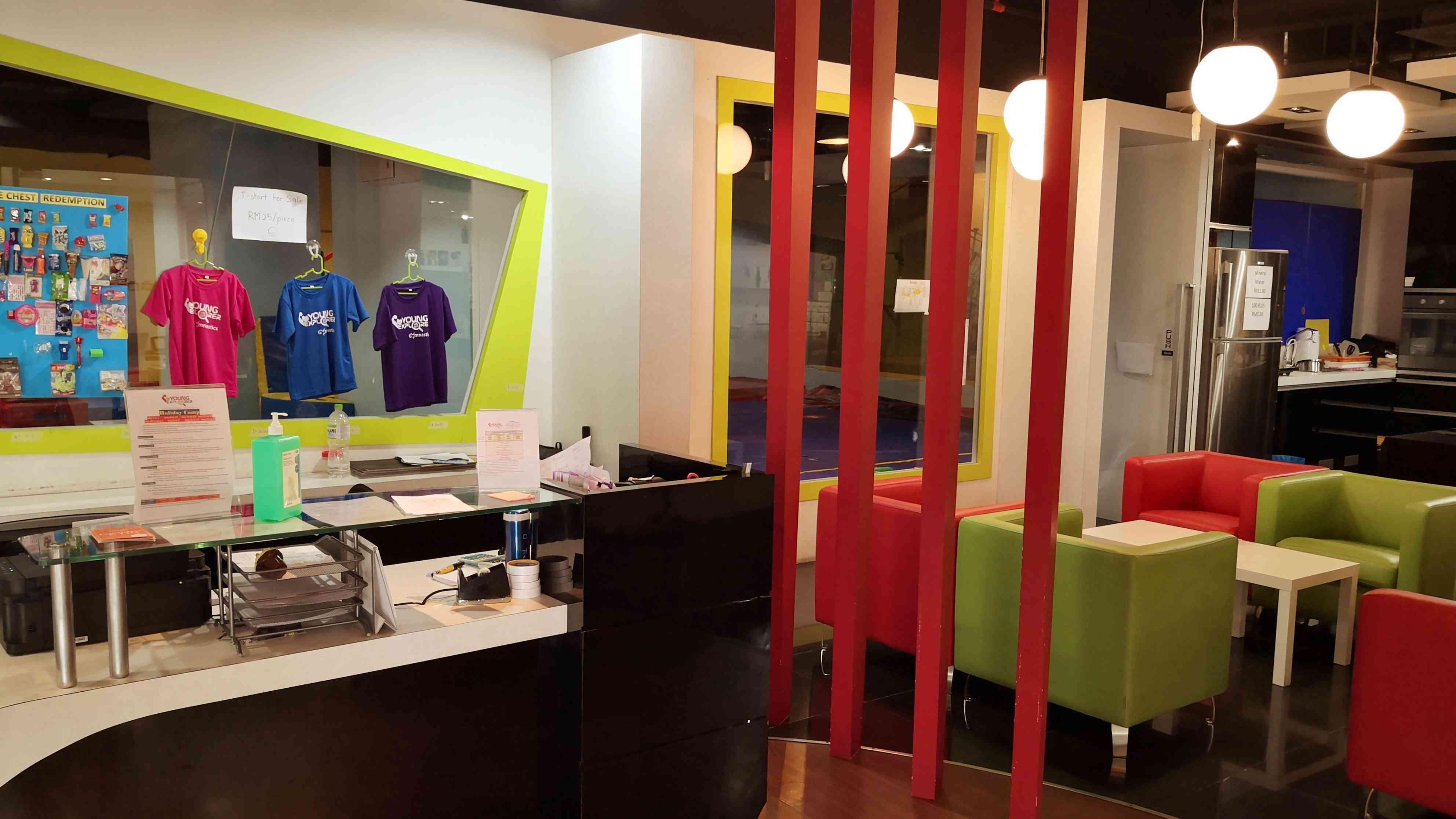 YoungExplorer Reception Area
